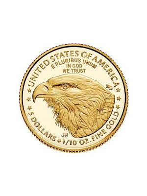 American Eagle 1/10 troy ounce gouden munt 2021 (type 2)