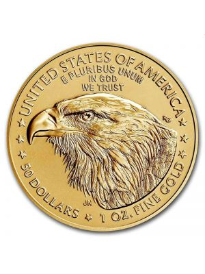 American Eagle 2021 1 troy ounce gouden munt (type 2)