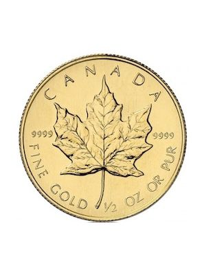 Maple Leaf ¼ troy ounce gouden munt