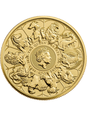 Queens Beasts Collection 1 troy ounce Complete Coin 2021