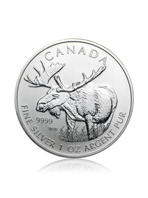 1 troy ounce Maple Leaf Wildlife Eland