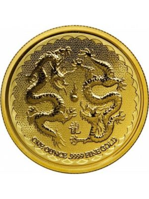 Niue Double Dragon 1 troy ounce gouden munt