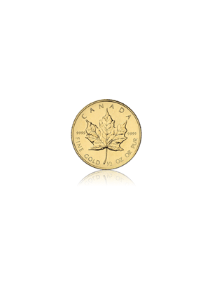 Maple Leaf 1/2 troy ounce gouden munt