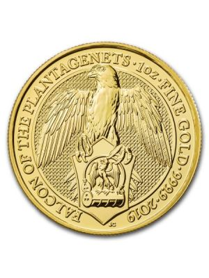 Queens Beast Falcon  2019 1 troy ounce gouden munt