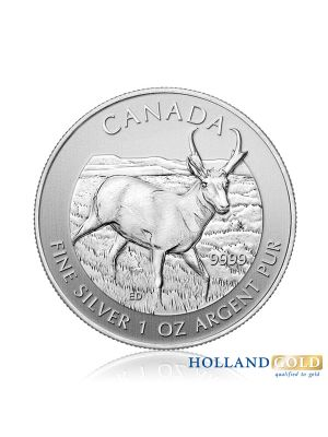 1 troy ounce Maple Leaf Wildlife 2013 Antilope small