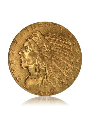 American Half Eagle 5 dollar Indian Head