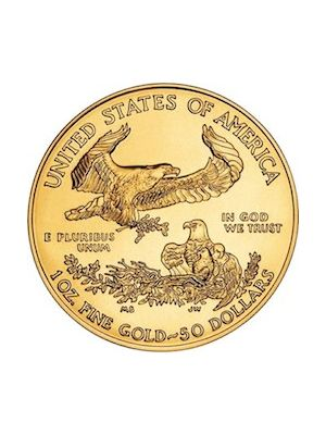 American Eagle 1 troy ounce gouden munt