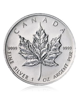 Maple Leaf 1 troy ounce zilver